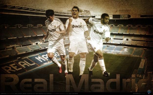 Kaka´        Cristiano Ronaldo         Benzema