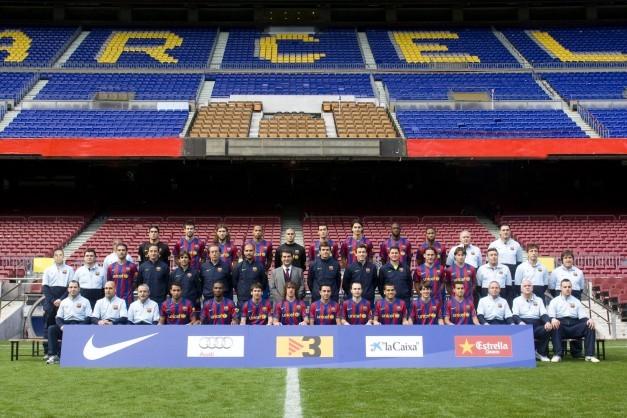 plantilla futbol club barcelona