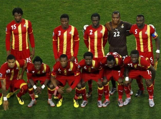 Uruguay-Ghana_imagenes seleccion de ghana